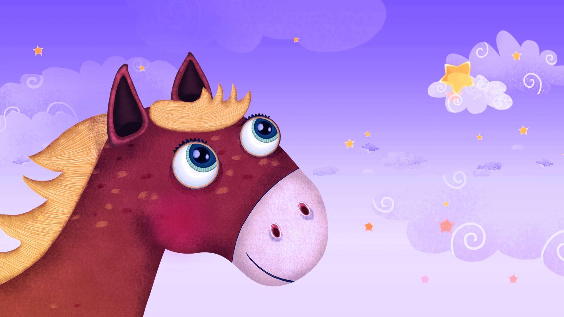 Arklys, dainele, vaikams, horse, song