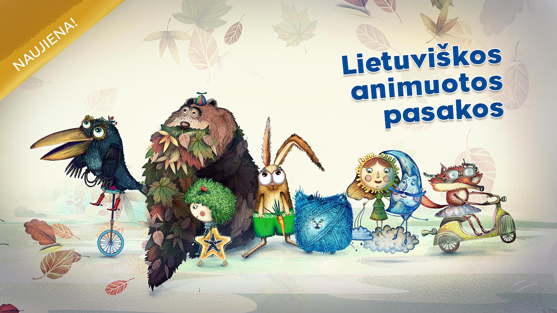 lietuviska animacija vaikams